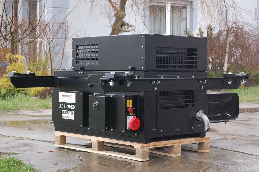 Agregat prądotwórczy naczepowy - pod naczepę kontenerową